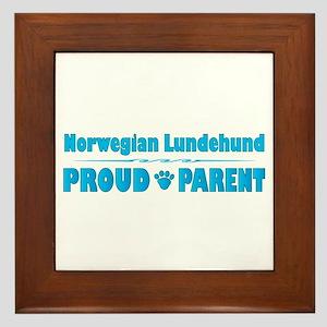 Lundehund Parent Framed Tile