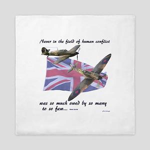 Battle of Britain Queen Duvet