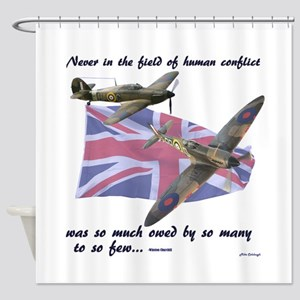 Battle of Britain Shower Curtain