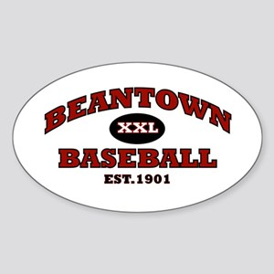 Beantown Baseball Oval Sticker