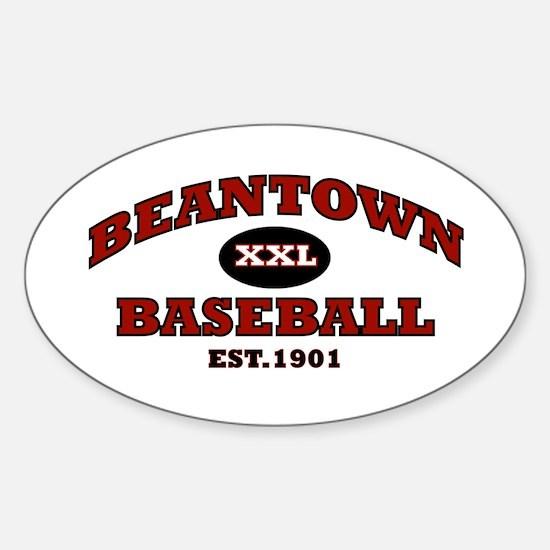 Beantown Baseball Oval Decal