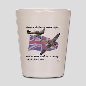 Battle of Britain Shot Glass