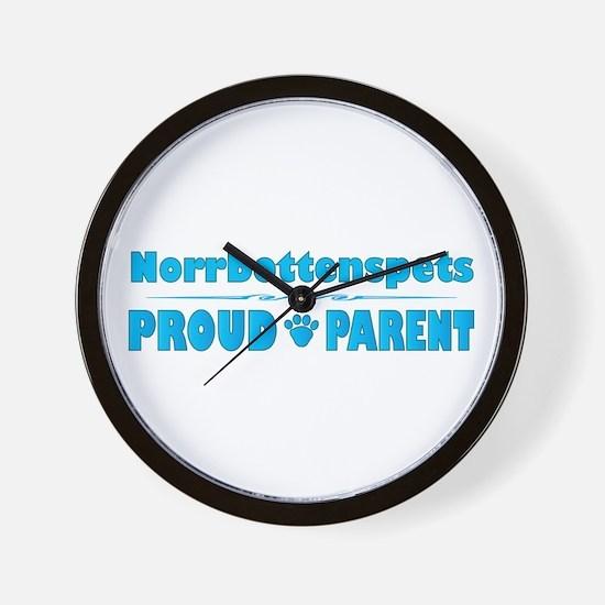 Norrbottenspets Parent Wall Clock