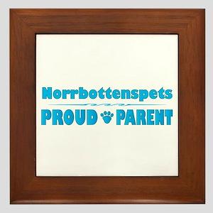 Norrbottenspets Parent Framed Tile