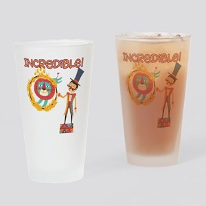 Incredible Circus Drinking Glass