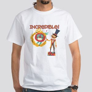Incredible Circus White T-Shirt