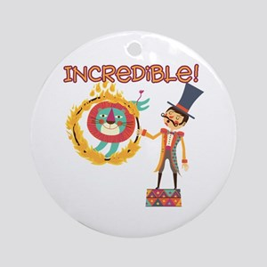Incredible Circus Ornament (Round)