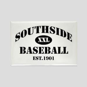 Southside Baseball Rectangle Magnet
