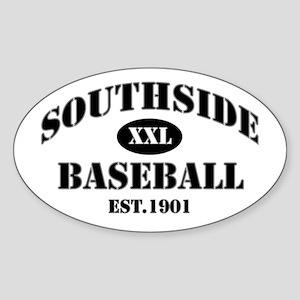 Southside Baseball Oval Sticker