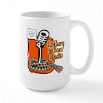 Le Guru Is You Radio Show Orange Mugs