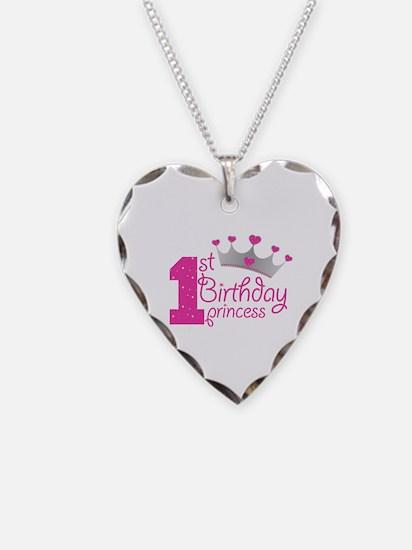 1st Birthday Princess Necklace