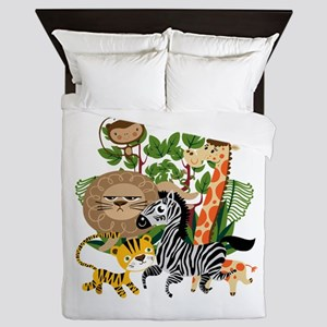 Animal Safari Queen Duvet
