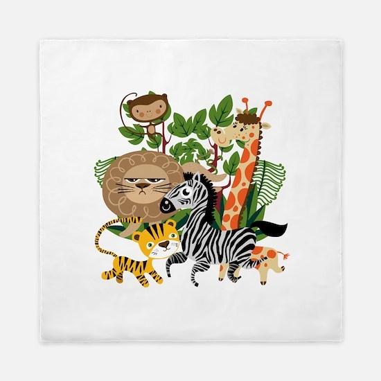 Animal Safari Queen Duvet