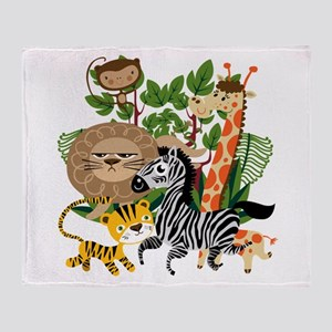 Animal Safari Throw Blanket