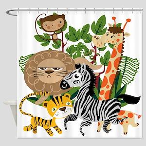 Animal Safari Shower Curtain