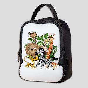 Animal Safari Neoprene Lunch Bag
