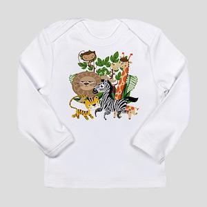 Animal Safari Long Sleeve Infant T-Shirt