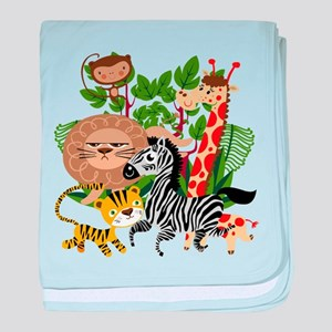 Animal Safari baby blanket