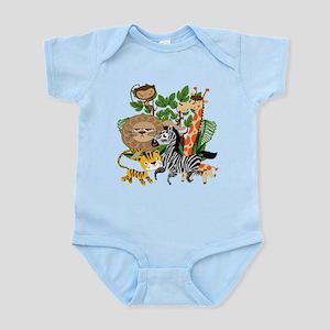 Animal Safari Infant Bodysuit