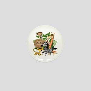Animal Safari Mini Button