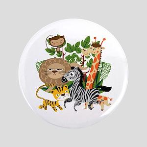"Animal Safari 3.5"" Button"