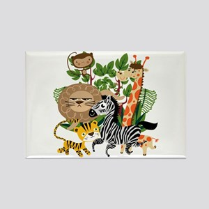 Animal Safari Rectangle Magnet