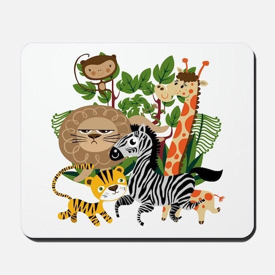 Animal Safari Mousepad