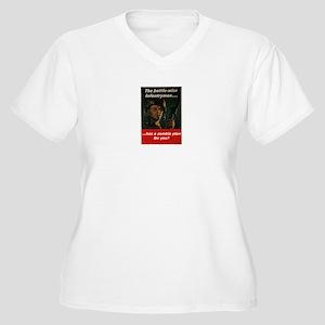 Infantry zombie Women's Plus Size V-Neck T-Shirt