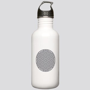Flower of Life Single Stainless Water Bottle 1.0L