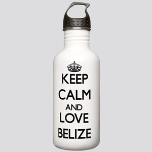Keep Calm and Love Bel Stainless Water Bottle 1.0L