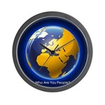 Who Are You People? Wall Clock