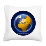 Who Are You People? Square Canvas Pillow