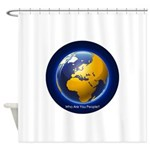 Who Are You People? Shower Curtain