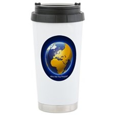 Who Are You People? Travel Mug