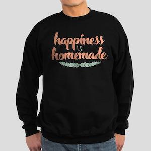 Happiness is Homemade Sweatshirt (dark)
