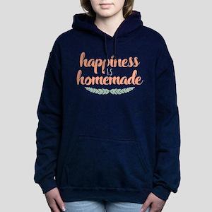 Happiness is Homemade Women's Hooded Sweatshirt