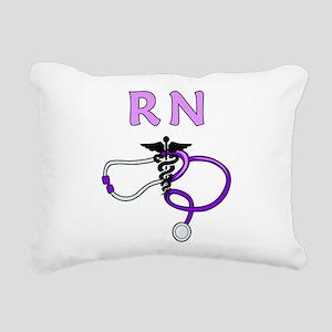 RN Nurse Medical Rectangular Canvas Pillow