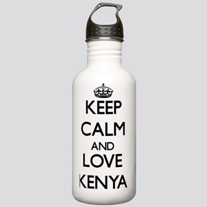 Keep Calm and Love Ken Stainless Water Bottle 1.0L