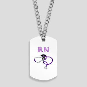 RN Nurse Medical Dog Tags