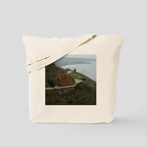 coastal highway 1 Tote Bag
