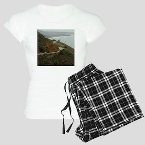 coastal highway 1 Women's Light Pajamas
