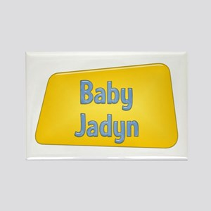 Baby Jadyn Rectangle Magnet