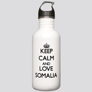 Keep Calm and Love Som Stainless Water Bottle 1.0L