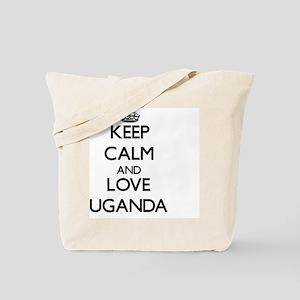 Keep Calm and Love Uganda Tote Bag