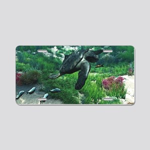 Archelon Aluminum License Plate