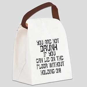 Drunk Canvas Lunch Bag