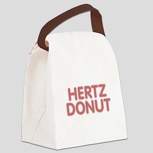 Hertz Donut Canvas Lunch Bag