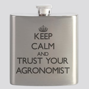 Keep Calm and Trust Your Agronomist Flask