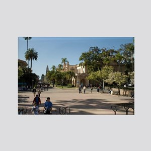 Balboa Park San Diego Rectangle Magnet