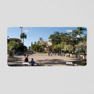 Balboa Park San Diego Aluminum License Plate